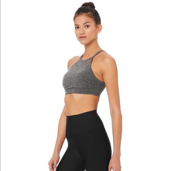 Alo Yoga Bra 🧘♀️🏃♀️ Super Cozy Spacedye Fabric